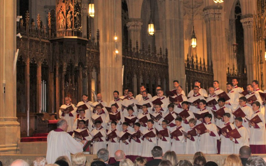 From St Peter's to St Patrick's: The Pope's Choir brings ...