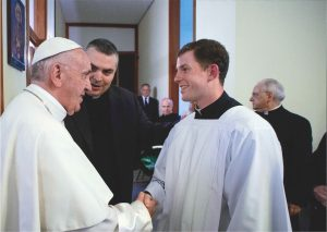 Meeting the Pope