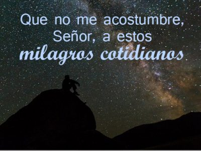 Milagro cotidiano
