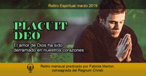 retiro espiritual de marzo 2019