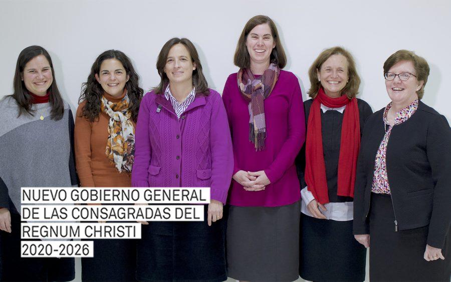 El nuevo gobierno general de las Consagradas del Regnum Christi