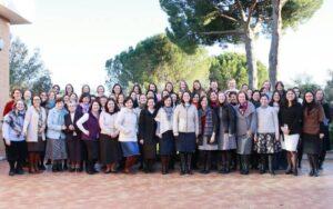 El territorio de Europa y la Delegación de la Dirección General de las Consagradas del Regnum Christi