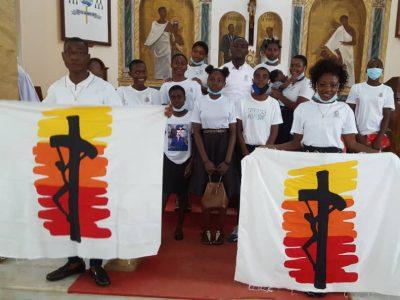 El Regnum Christi de Guinea Ecuatorial también celebró Cristo Rey