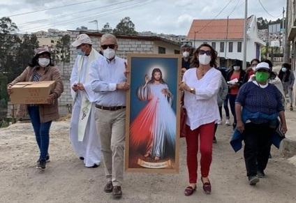 Regnum Christi de Quito comprometido con la transformación del barrio