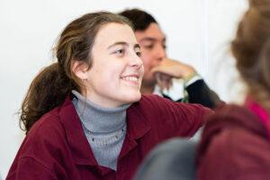 Paloma, recién incorporada y colaboradora en Argentina