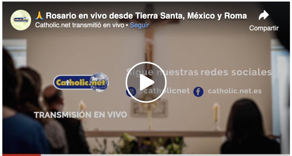 400 mil personas se unen para rezar el Rosario